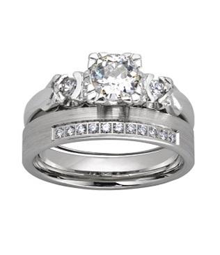 Wszystko dla kobiet - komplet ślubnej biżuterii damskiej